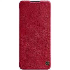 OnePlus Nord N10 5G maciņš sarkans Qin Leather