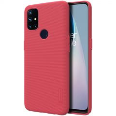 OnePlus Nord N10 5G vāciņš sarkans Super Frosted Shield