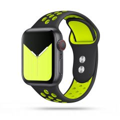 Apple Watch siksniņa melns TECH-PROTECT SoftBand 4/5/6/7/SE (42/44/45mm)