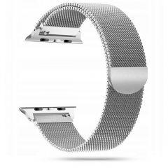 Apple Watch siksniņa sudraba TECH-PROTECT MilaneseBand 4/5/6/7/SE (42/44/45mm)