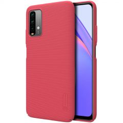 RedMi RedMi 9T case red Super Frosted Shield
