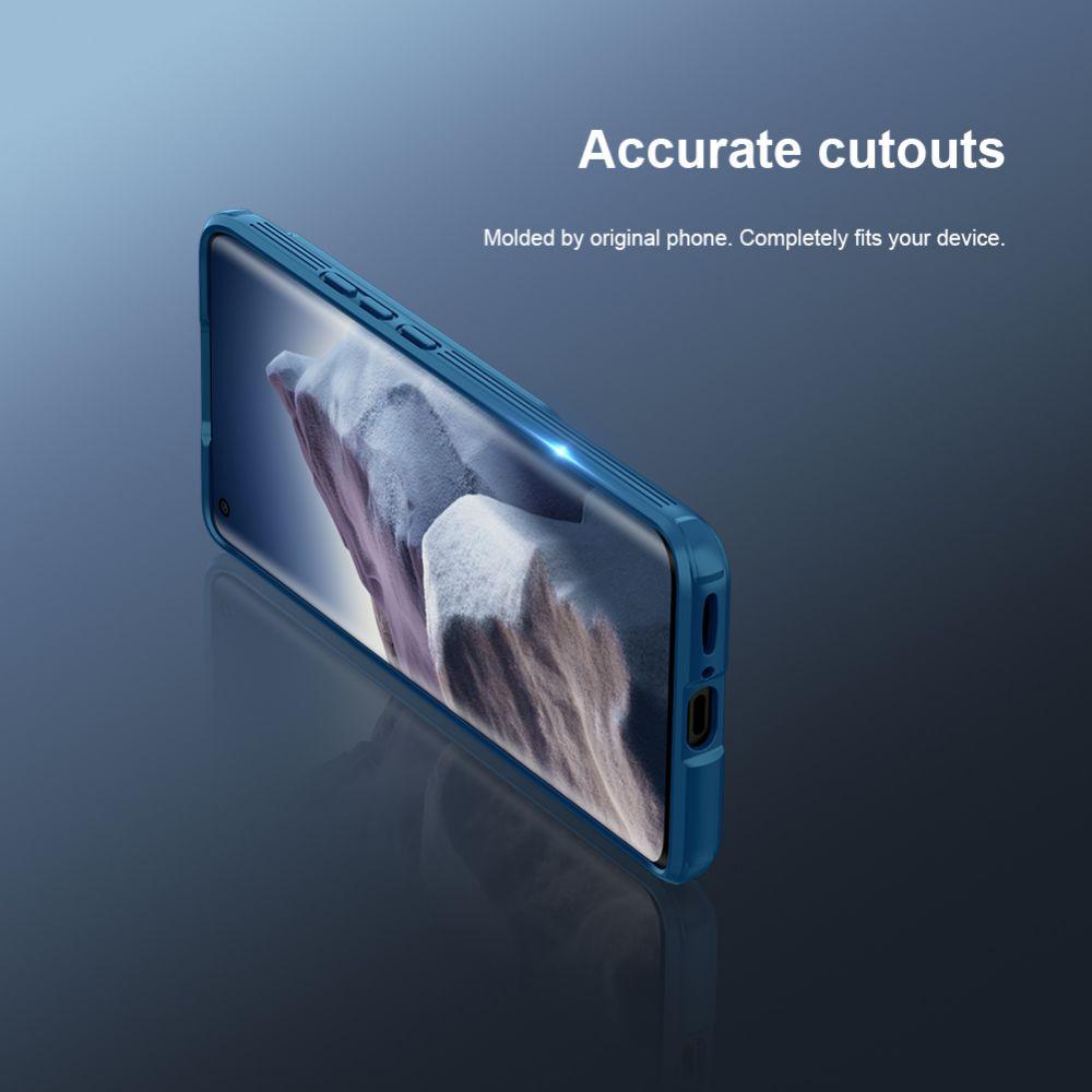 Xiaomi Mi 11 Ultra vāciņš zils Nillkin CamShield PRO