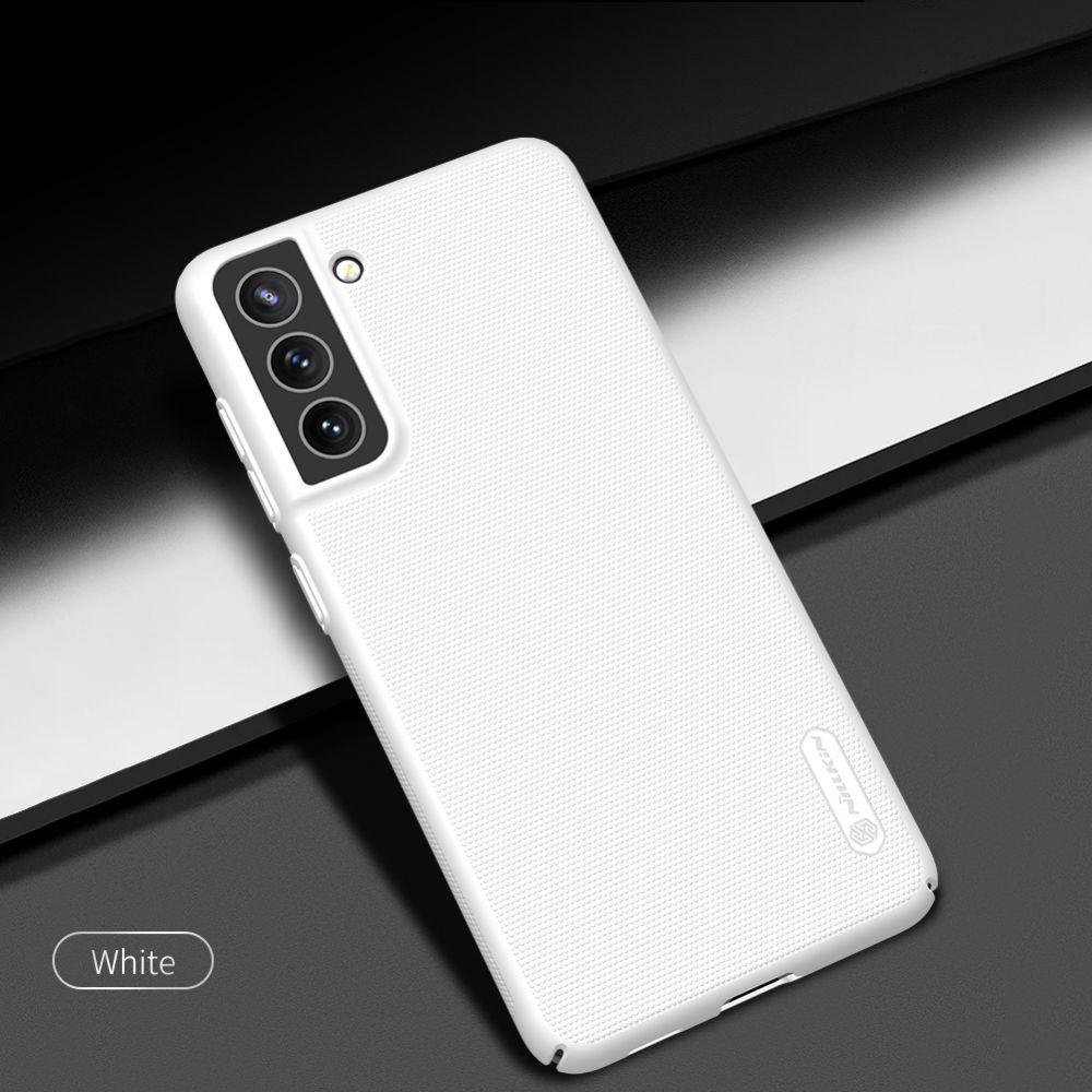 Samsung Galaxy S21 FE vāciņš balts Nillkin Super Frosted Shield
