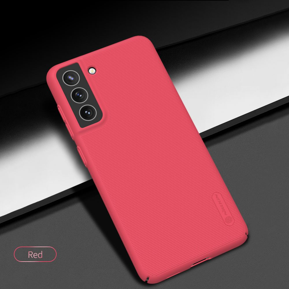 Samsung Galaxy S21 FE vāciņš sarkans Nillkin Super Frosted Shield