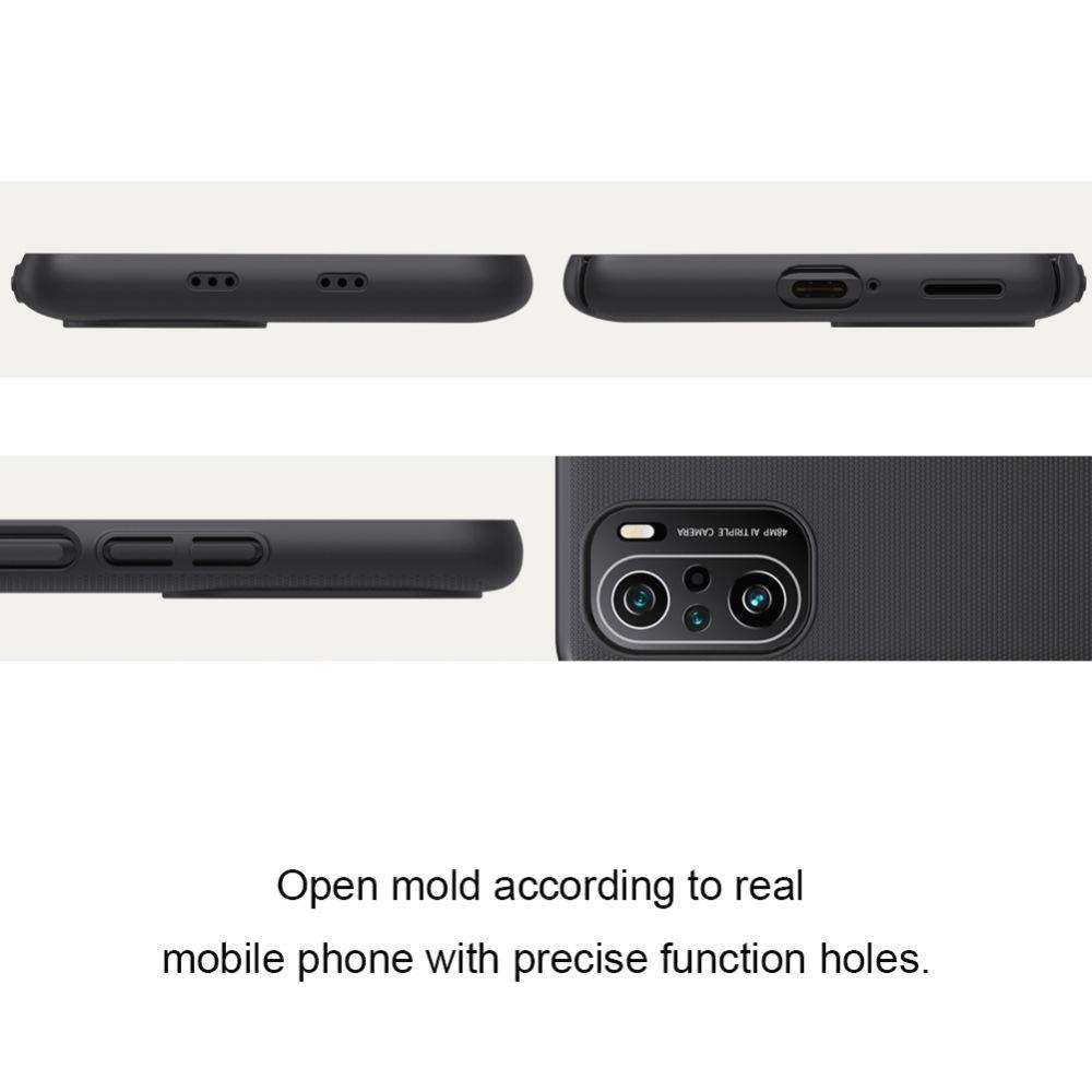 Xiaomi Mi 11i vāciņš zils Nillkin Super Frosted Shield