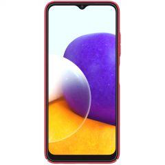 Samsung Galaxy A22 vāciņš sarkans Nillkin Super Frosted Shield  5G