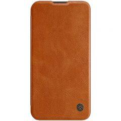 iPhone iPhone 13 maciņš Nillkin Qin Leather  iPhone 13