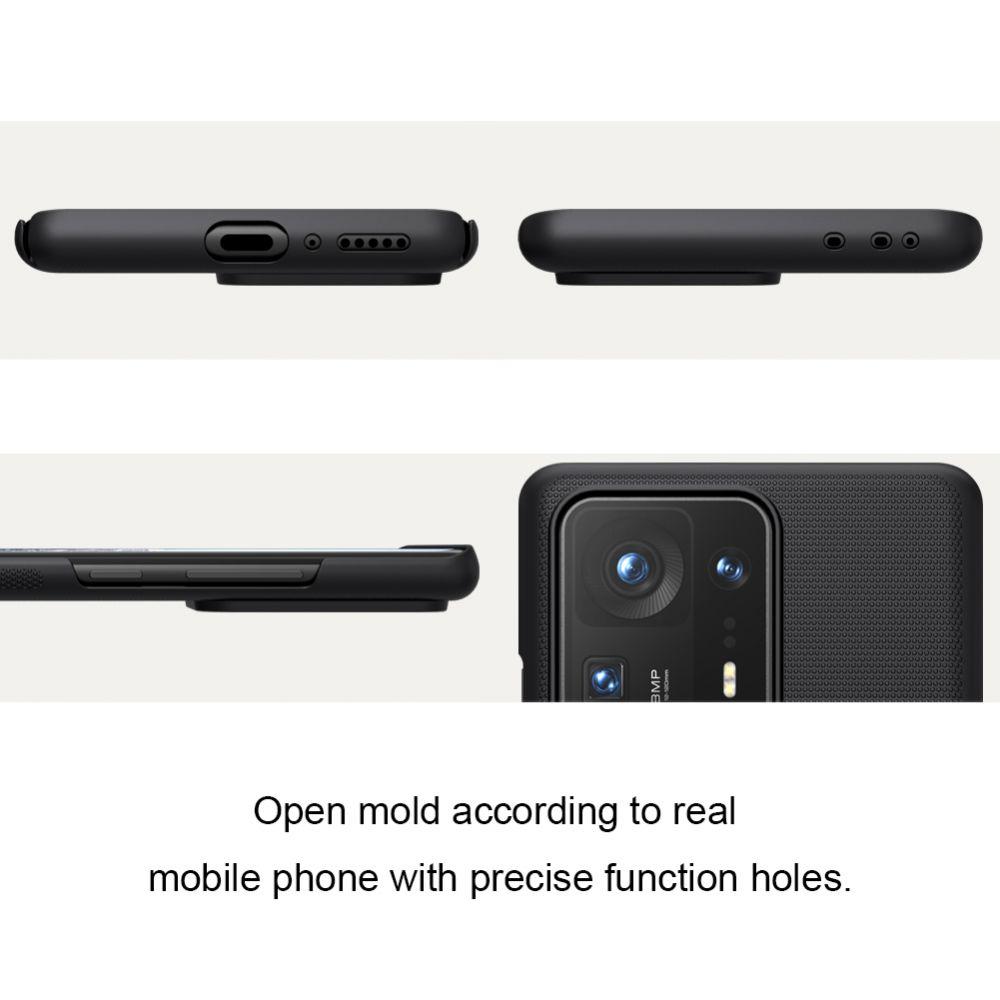 Xiaomi Mi Mix 4 vāciņš melns Nillkin Super Frosted Shield