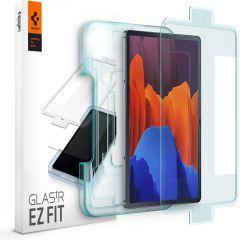 Galaxy Tab Galaxy Tab S7 FE 5G 12.4 aizsargstikls SPIGEN Glas.TR EZ FIT Samsung Galaxy Tab S7 FE 5G 12.4
