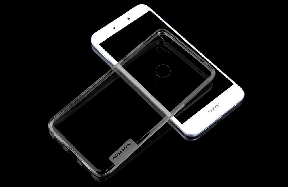P8 Lite/ P9 Lite (2017) case transparent gray