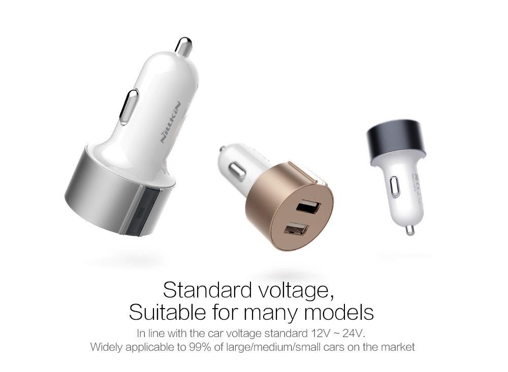 Aксессуары Автомобильные зарядные устройства Nillkin Vigor car charger