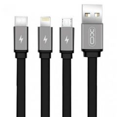 Aksesuāri Datu kabeļi  XO MOBILE 3 in 1 USB Cable