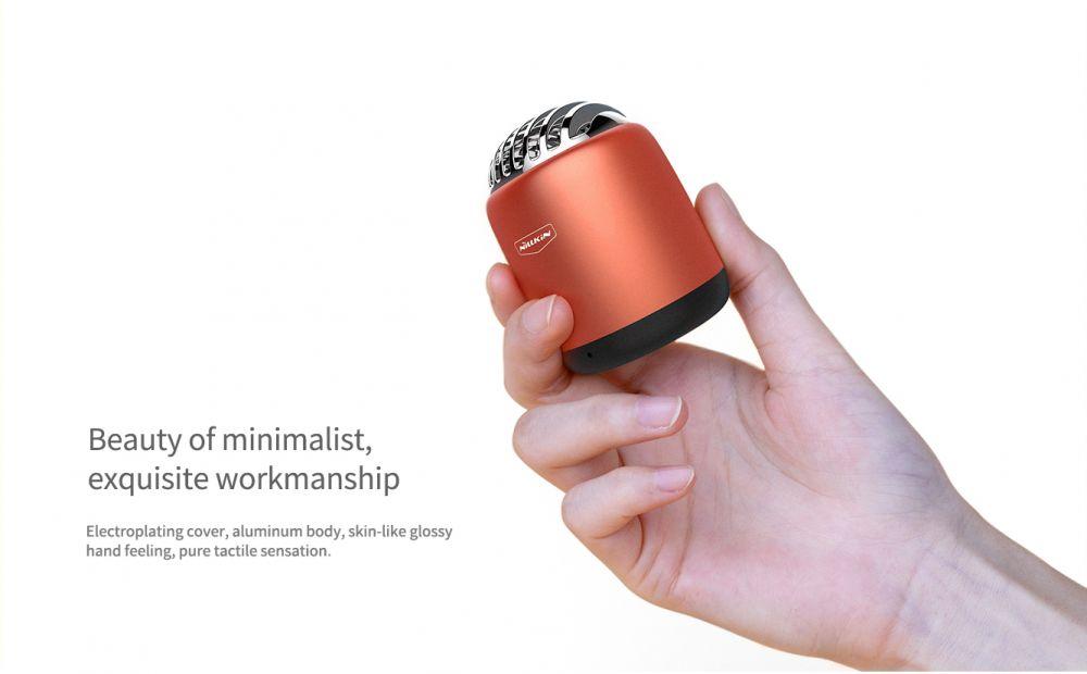 Bluetooth skaļruņi Bullet Mini Wireless Speaker  melns