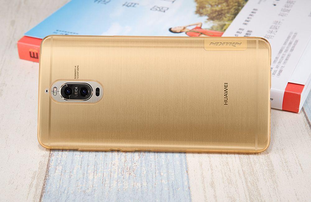 Huawei Mate 9 Pro vāciņš caurspīdīgs brūns