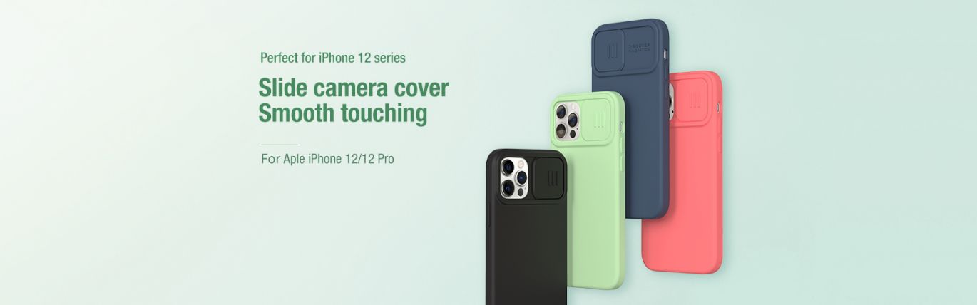 CamShield Silky Silicon Case iPhone 12